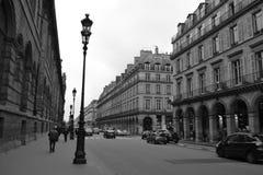 Street in Paris Stock Images