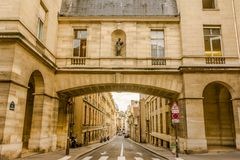Street in Paris, France Stock Photography