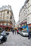Street in Paris. Stock Photography