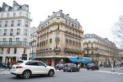 Street in Paris. Royalty Free Stock Photography