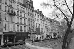 Street in Paris. Royalty Free Stock Image