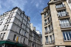 Street of  Paris, France Stock Photography