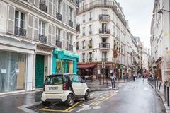 Street in Paris, Rue St. Andre Des Arts Royalty Free Stock Photo