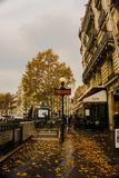 Street of Paris royalty free stock photos