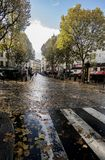 Street of Paris Royalty Free Stock Photography