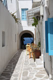 Street in Paros Royalty Free Stock Photography