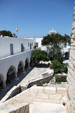 Street in Paros Stock Photography