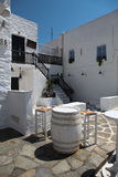 Street in Paros Royalty Free Stock Image