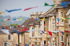 Street Party Bunting Stock Photos