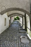 Street in Passau Stock Photography