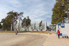 Street of Pastavy. Royalty Free Stock Photos