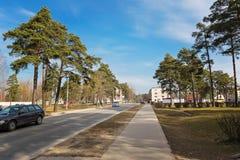 Street of Pastavy. Stock Image
