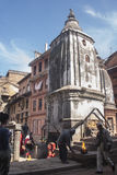 The street of Patan Stock Images