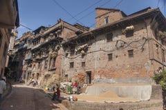 The street of Patan Royalty Free Stock Photos