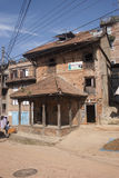 The street of Patan Stock Photography