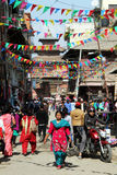 Street in Patan Stock Images