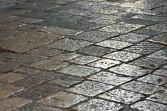 Street paved Stock Photo