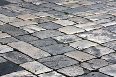 Street paved Royalty Free Stock Photography
