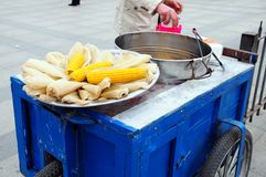 Street peddler Royalty Free Stock Photos