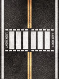 Street pedestrian crossing pattern Stock Photos