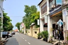 Street of Penang Royalty Free Stock Photo