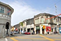 Street of Penang Royalty Free Stock Photography