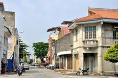 Street of Penang Stock Photography