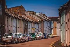 Street in Penzance Stock Photo