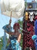 Street Performance on Cherry Creek Art Festival in Denver stock photos