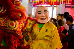 Street performance for Chinese Hungry Ghost festival (Por Tor) a Stock Images