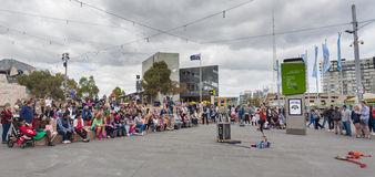 Street performance Stock Photos