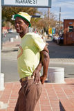 Street Performance near Mandela�s house Stock Photos