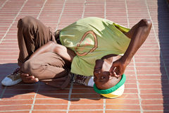 Street Performance near Mandela's house Stock Photography