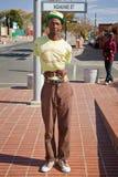 Street Performance near Mandela's house Stock Photography