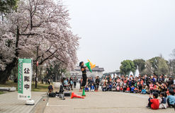 Street performance Royalty Free Stock Photos