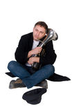 Street performer Royalty Free Stock Photography