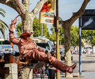 Street Performer Stock Image