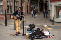 Street Performer, England Royalty Free Stock Image