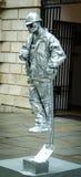 Street Performer Living statue Stock Photo