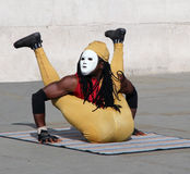 Street Performer in London Royalty Free Stock Photography