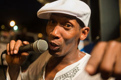 Street Performer in Miami Stock Photos