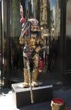 Street performer monster Stock Photo