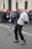 Street performer Royalty Free Stock Photo