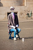Street performer in Rome Stock Photography