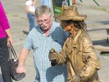 Street performer Royalty Free Stock Photos