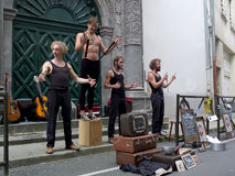 Street performers Royalty Free Stock Photography