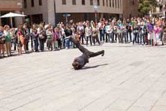 Street Performers Barcelona Royalty Free Stock Images