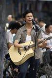 Street performers Stock Photo