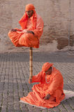 Street Performers in Rome Royalty Free Stock Photography