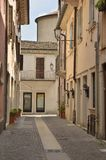 Street in Peschiera Royalty Free Stock Photos